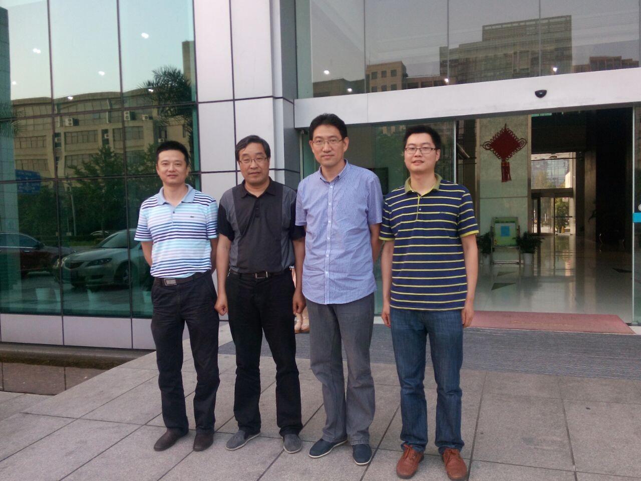 宁波大学成教学院领导视察鄞州教学点